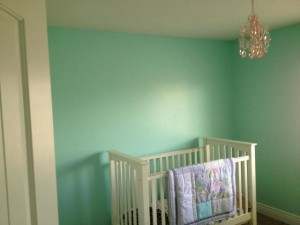 cute paint baby room