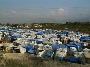 Haitian Tent City