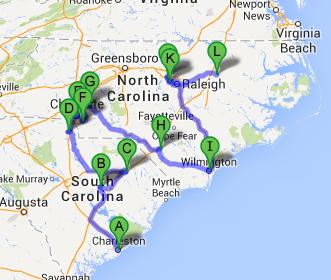 Carolina Trip