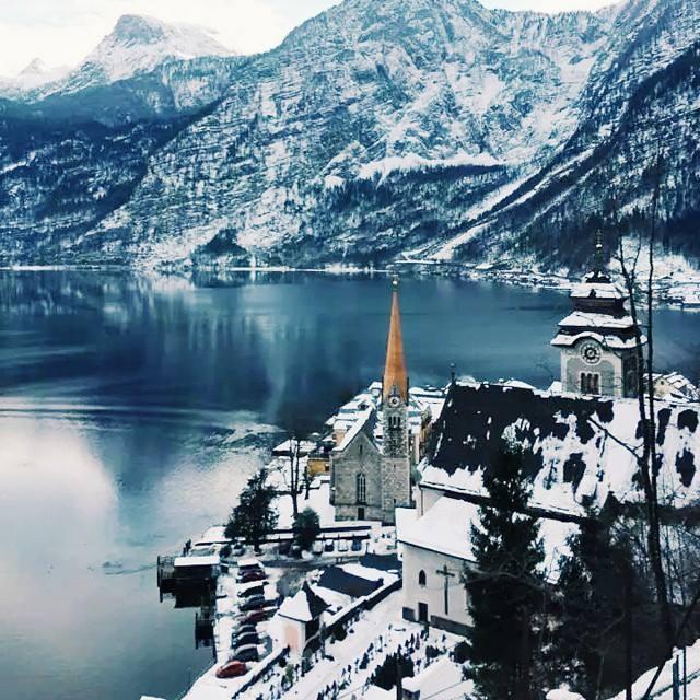 Hallstatt, Austria in the Winter - Photo Credit: Stephanie Bowen