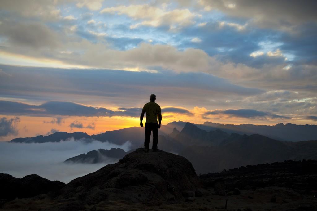 A Kilimanjaro Sunset